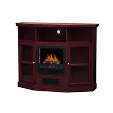 Hawthorne TV Stand with Electric Fireplace 400