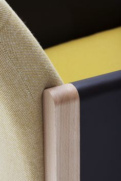 Upholstered 2 seater fabric sofa Resident Collection by @adentro0063 | design Adentro Studio