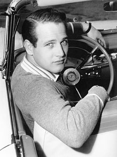 We Had Faces Then — Paul Newman, 1958