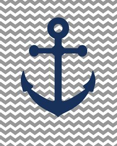 "So this weekend my hubs got some fun new ""boat shoes""... ...and just like that I was inspired to create some free anchor printables (av..."