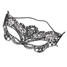 Black Lace Mask- cost plus world market