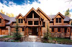 Super 179 Best Beautiful Log Homes Images In 2018 Log Cabin Download Free Architecture Designs Scobabritishbridgeorg