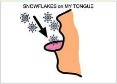 Chapel Hill Snippets: Snowflakes Everywhere---printable book with icons
