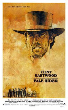 Pale Rider - Clint Eastwood - Mini Print