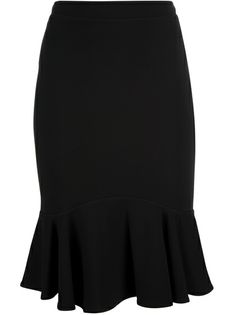 ROBERTO CAVALLI Fitted Drill Skirt