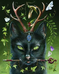Janie Olsen | ACRYLIC | When Eyes Turn Green, He Shall Be Seen