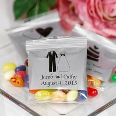 Personalized Jelly Belly Bags