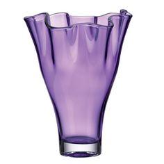 Crystal Vase, Amethyst - Purple Bedroom Ideas