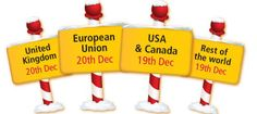 DHL's last posting dates give you more time to find the perfect Christmas gift