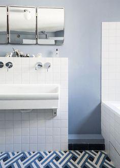 BATEAUMAGNE I Bourdaloue I salledebains I #bathroom #kids #mosaicdelsur #carreauxciments