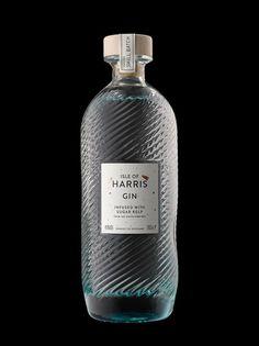 gin bottle packaging definitely post-drinking display worthy #branding #design  –  minimalism.co