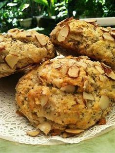 Almond Poppyseed Scones www.glennchefhawaii.com