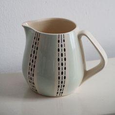 zierratundgold: Milchkrug Keramik