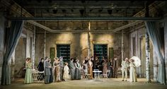 Fortunio by Andre Messager at Grange Park Opera. Production by Daniel Slater. Sets by Francis O'Connor.