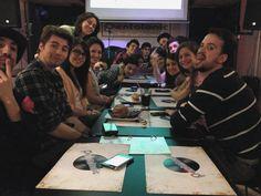 """La scorsa primavera con la compagnia teatrale """"La bottega dei Ragazzi"""".  #pentatoniclive #friends #cena #semagna"""