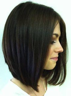 Inverted Long Bob Haircut