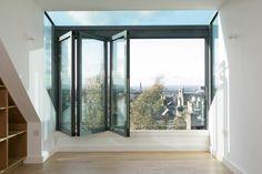Helen Lucas Architects Edinburgh   project   hartington attic conversion edinburgh   living spaces