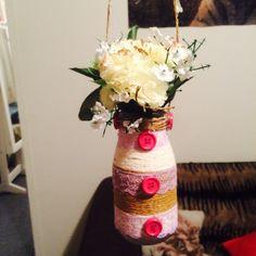 Flower Rope Jar