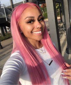 087a2694995 F O L L O W M E  tanashackleford Sc  tanathtbih IG  Chocolate Beauty2002  Black Girl Pink Hair
