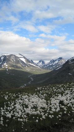 View from the hike up to Galdhøpiggen, Scandinavia's highest mountain (excluding the Danish territory of Greenland).