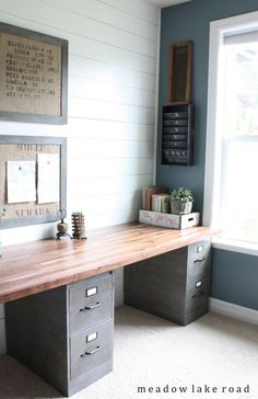 Office desk for 2 Contemporary Agencement Cuisine Trash To Treasure Upcycled Metal Paper Organizer Bureau Idee Sharing Is Caring Dont Forget To Share Pinterest 30 Shared Home Office Ideas That Are Functional And Beautiful Home
