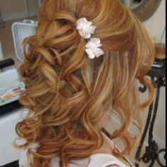 My next hair color & possible wedding do!