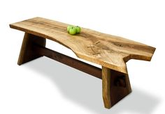 Davies Coffee Table | Sustainable Wood Coffee Table | David Stine Woodworking
