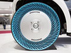 Bridgestone Air Free concept tire