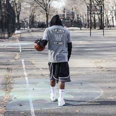 Never not ballin // Play Hard est. 1993 #k1x #parkauthority #nationofhoop #playhard #since93 #onecourtatatime #basketball #streetball #hoopdreams #shootinghoops #unlimitedballer #basketballgame #basketballislife