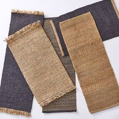 Handwoven Jute & Wool Doormats on Food52 Cooking Contest, Black Chalkboard, Made In Heaven, Match Making, Cool House Designs, Home Rugs, Rug Cleaning, Design Show, Seasonal Decor