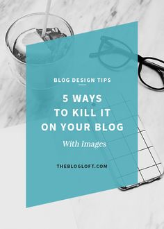 How to use your blog images to drive traffic. 5 WAYS TO KILL IT ON YOUR BLOG WITH IMAGES. What motivates you to click on a Pin, Tweet or Post? I'm willing to bet that most of the time your biggest motivator is an attractive image, am I right? Ok, so we all know already that images play a significant role in getting traffic to our blogs. So why isn't it working for you then?