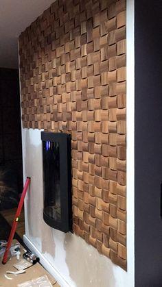 wood mosaic, oak mosaic, wood panels, elements wooden