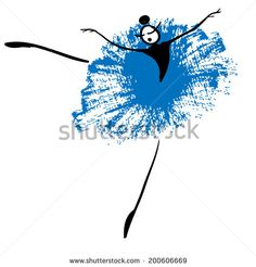 Stock Images similar to ID 71476468 - the dancing girl with colorful...