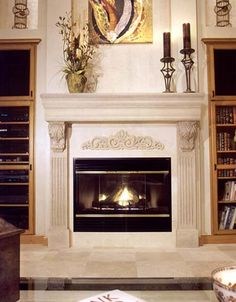 fireplaces with mantles