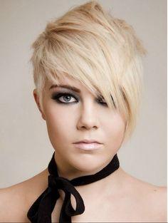 Trend olan Kısa Saç Modeli