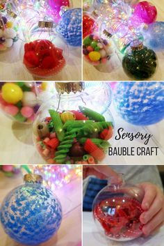 Christmas Sensory Bauble Craft