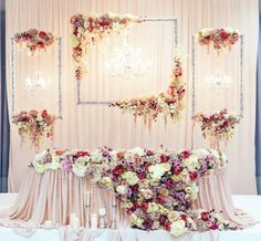 Wedding Designs Floating Chiffon Table Skirt with extra length Long Chiffon Wedding Stage Decorations, Wedding Ceremony Backdrop, Wedding Table, Engagement Decorations, Wedding Mandap, Graduation Decorations, Wedding Receptions, Wedding Vows, Table Decorations