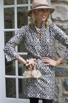 2b53bd4a84 Shop Devon Baer - Fairisle Cotton Dress Summer Chic
