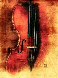 Resultado de imagem para violin painting