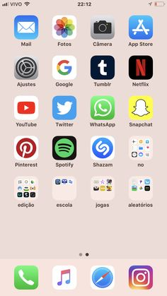 Iphone app layout, iphone home screen layout, iphone iphone hacks, apple