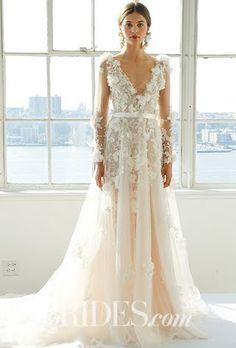 Marchesa Wedding Dresses - Spring 2017 Bridal Fashion Week : Brides.com