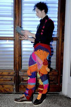 those pants....