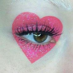 Eight Sexy Circus Makeup Ideas - Make-up Makeup Goals, Makeup Inspo, Makeup Inspiration, Beauty Makeup, Makeup Style, Makeup Ideas, Pink Makeup, Sparkle Makeup, Makeup Tutorials