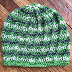 Simple adult hdc hat with fpdc increases and detail #crochet #crochet #crocheting #kaylascharmar