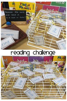 Reading challenge. Untangle the words and read. Sort into 'real' and 'fake'
