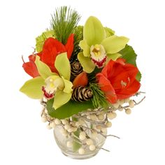 Happy Holidays by Martin's, the Flower People #TorontoFlorist