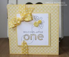 Love the yellow on this card.