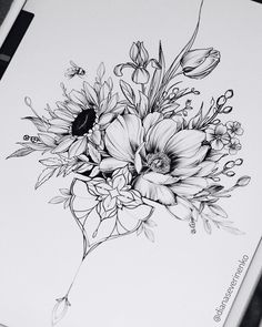 50 Arm Floral Tattoo Designs for Women 2019 - Page 19 of 50 - Flower Tattoo Designs - tattoos Tattoo Fairy, Tattoo Femeninos, Shape Tattoo, Body Art Tattoos, Sleeve Tattoos, Tatoos, Arabic Tattoos, Tattoo Thigh, Tattoos Skull
