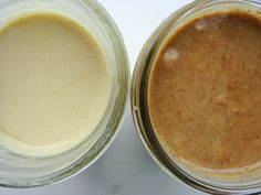 Coconut Cashew Butter and Pecan Butter recipes
