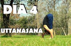 Elena Malova: Día 4 - Uttanasana Yoga Challenge #malovayogachallenge1: